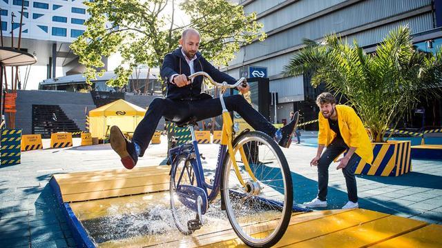 Aantal ritten OV-fiets stijgt in 2015