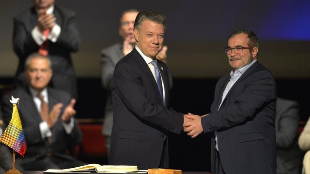 Senaat Colombia akkoord met vredesdeal FARC