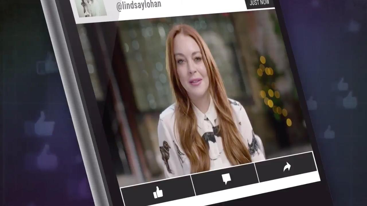 Lindsay Lohan maakt programma over social media