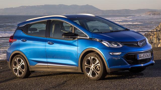 Opel maakt prijs elektrische Ampera-e bekend