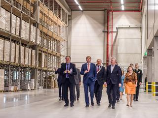 Koning Willem-Alexander verricht opening