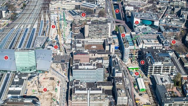 Overzicht: Alle werkzaamheden op Utrecht Centraal