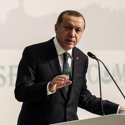 Partij Erdogan dient voorstel in voor uitbreiding macht president