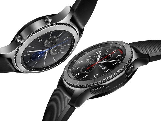 Samsung presenteert Gear S3-smartwatch met ingebouwde GPS
