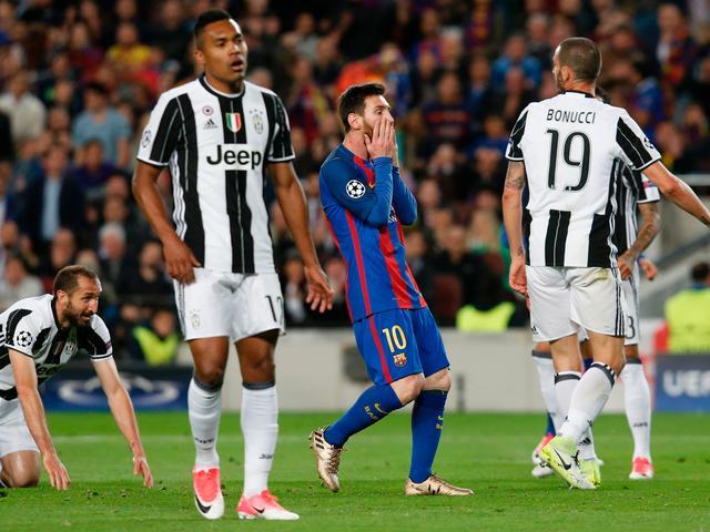 Juventus ten koste van FC Barcelona naar halve finales Champions League