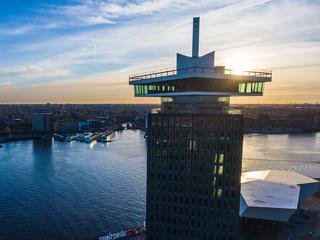 Combitickets voor de A'dam Lookout en Amsterdam Harbour Cruise met 12,50 euro korting