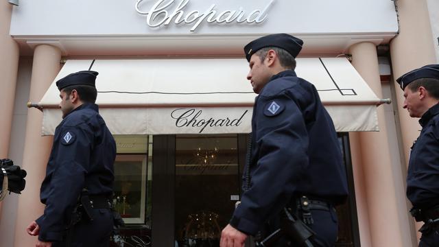 Juwelendieven Cannes krijgen flinke celstraffen