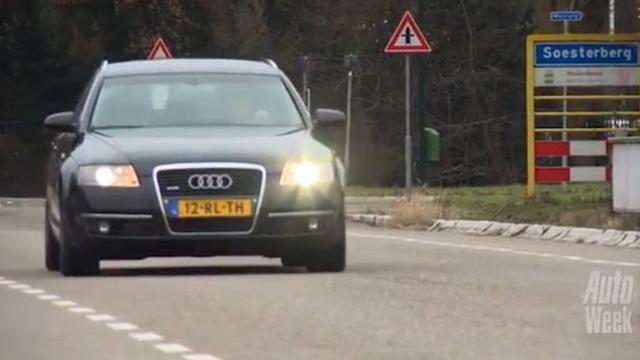 Klokje Rond Audi A6 Avant 3.0 TDI (2005 / 507.571 km)