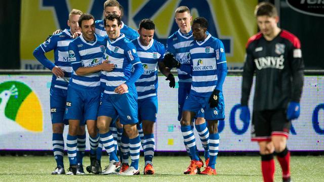 PEC Zwolle in attractief duel te sterk voor tiental Heerenveen
