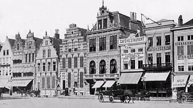 Zo zag Groningen er honderd jaar geleden uit