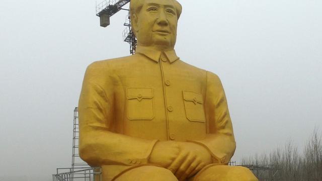 Groot standbeeld Mao Zedong drie dagen na onthulling alweer afgebroken