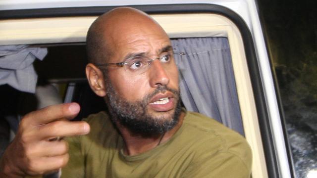 Strafhof wil arrestatie vrijgelaten zoon Kaddafi