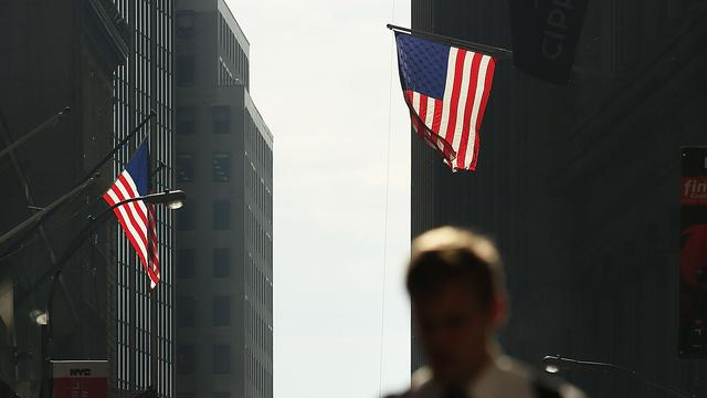 Wall Street overwegend vlak