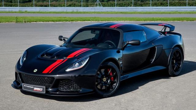 Lotus Exige 350 Special Edition gepresenteerd op eindfeest