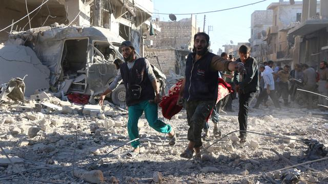 VN noemt situatie in Aleppo te onveilig voor medische evacuaties