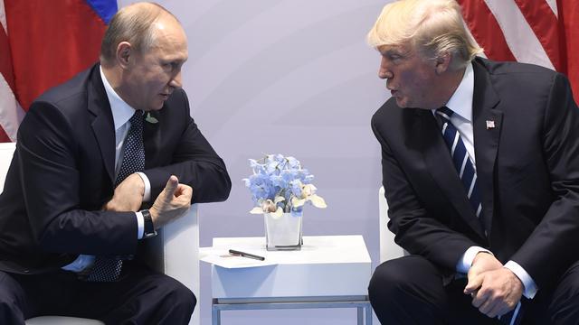Trump en Poetin bespreken wapenstilstand delen Syrië tijdens G20-top