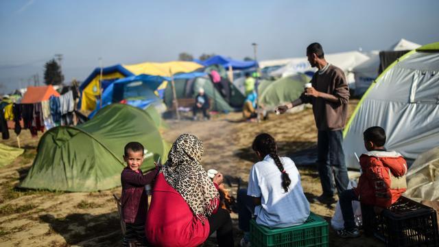 Vluchtelingenkamp Idomeni moet begin juni weg