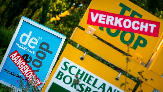 Aantal verkochte woningen stijgt ook in september