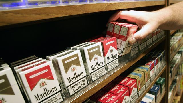 Geen decoratie meer op pakje sigaretten