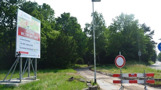 Fietspad Willem Dreesweg krijgt asfaltlaag