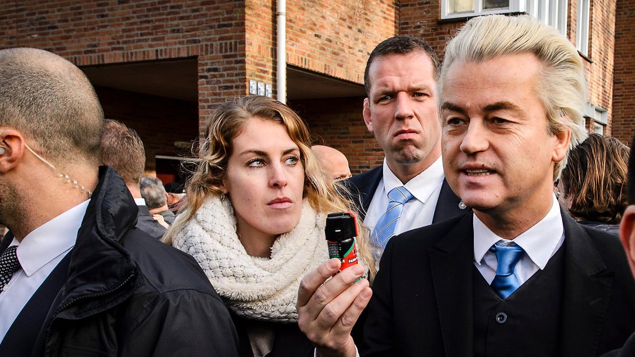 Wilders: 'Als de kogel komt staan de letters PvdA erop'