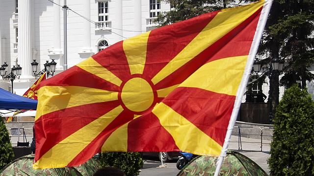 Rellen tussen nationalisten in Macedonië