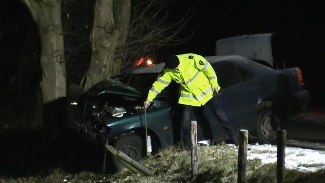 Automobilist omgekomen in Neede door botsing tegen boom