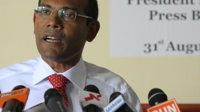 Ex-president Malediven krijgt asiel in Engeland