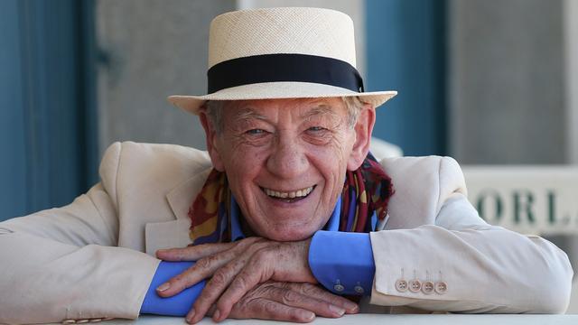 Ian McKellen 'blij' dat hij op latere leeftijd succesvol werd