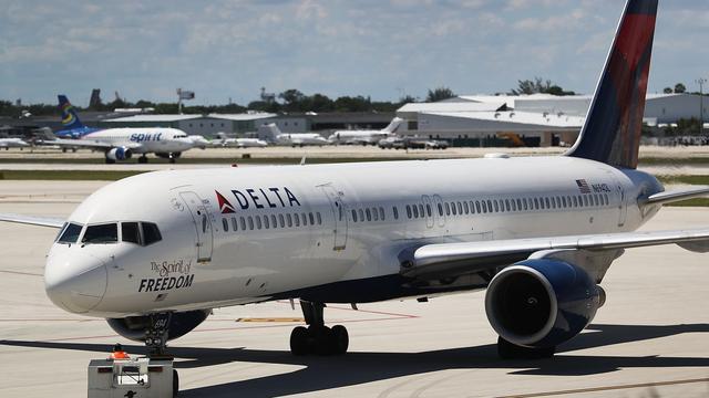 Lagere winst voor Delta Air Lines door computerstoring