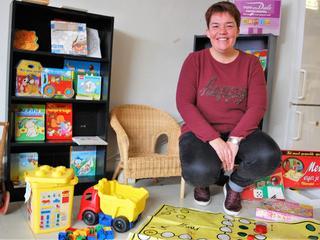 Oprichtster Speelgoedbank maakt zo'n tachtig kinderen blij