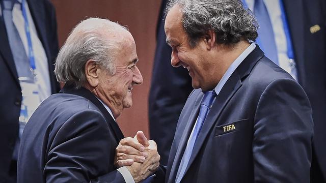 Platini vindt dat Blatter veel heeft betekend voor het voetbal