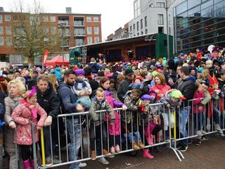 Sinterklaas komt zaterdag 12 november aan op het Rijnplein.