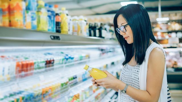 Toegevoegde suikers apart aangegeven op Amerikaans voedingsetiket