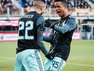 Ziyech helpt Amsterdammers met twee treffers aan 1-3 zege