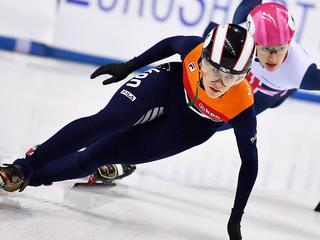 Mogelijk operatie voor Europees kampioene op 500 meter