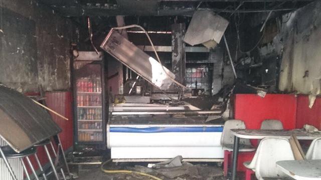 Snackbar City Snack door brand verwoest