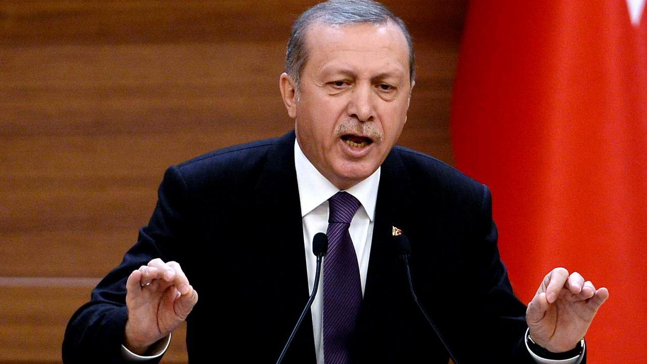 Erdogan beschuldigt Europa van hypocrisie in migratiecrisis
