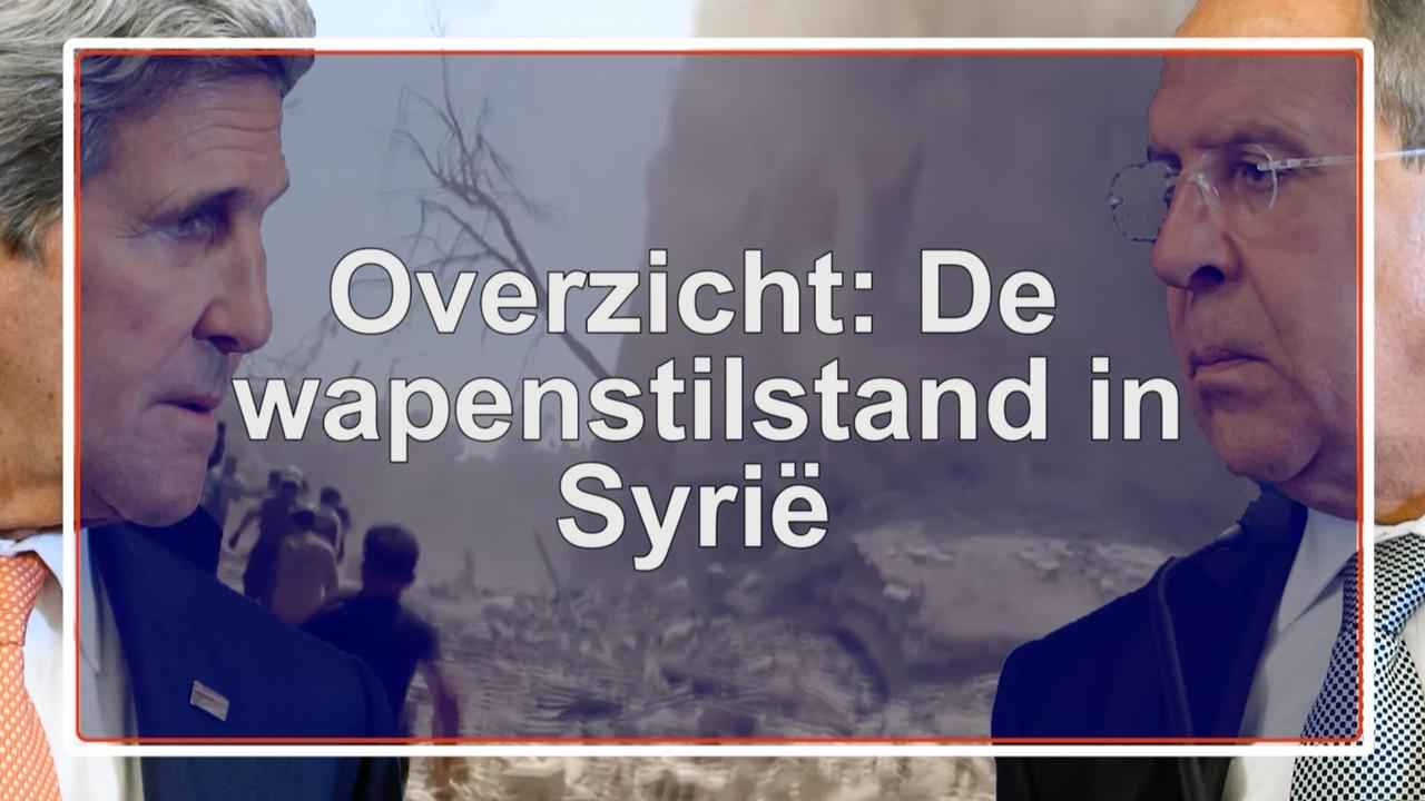 Overzicht: De wapenstilstand in Syrië