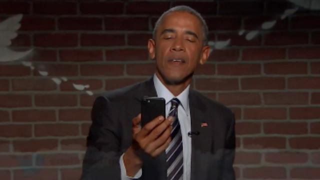 Obama reageert op 'gemene' tweet van Trump