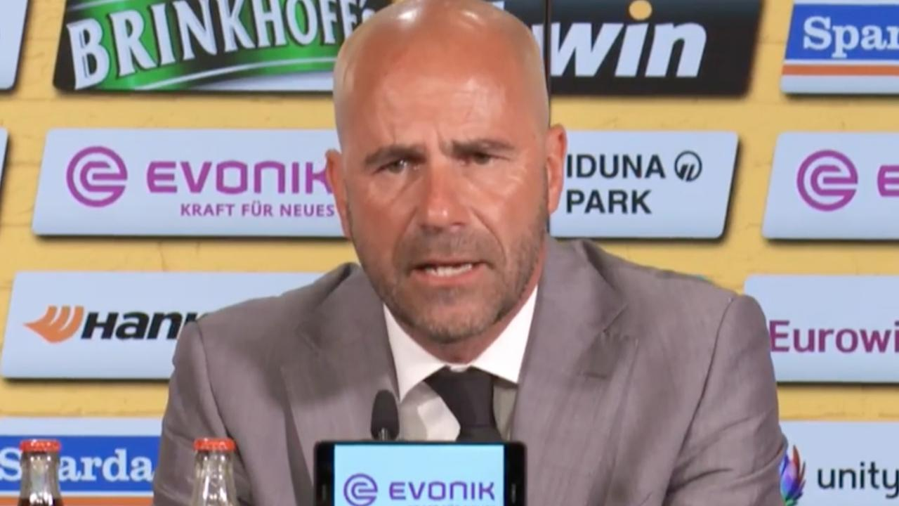 Peter Bosz blikt terug op tijd bij Ajax tijdens presentatie Dortmund