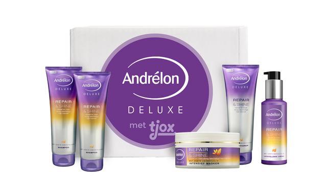 Andrélon Deluxe Repair & Shine box met 50 procent korting