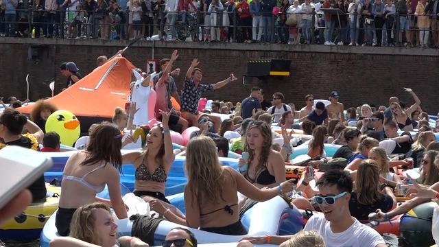 Video: Breda rekent op wereldrecord drijven op het water