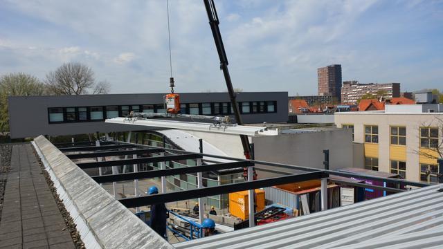 Renovatie ADRZ in Vlissingen op hoogste punt