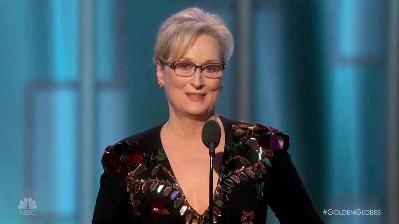 Meryl Streep haalt in emotionele toespraak uit naar Trump