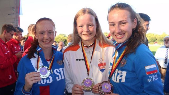Goud, zilver en brons voor Leidse atlete op Doven EK