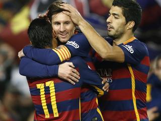 Barcelona verbreekt Spaans doelpuntenrecord van Real Madrid