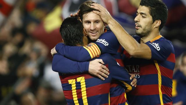 Barcelona, Atletico en Real Madrid zegevieren in Primera Division