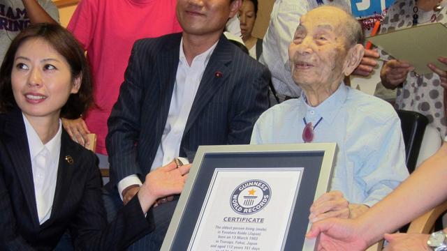 Oudste man van de wereld (112) overleden