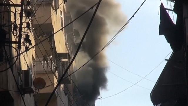 Tientallen mensen omgekomen bij aanval op Aleppo